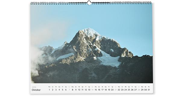 small photo calender